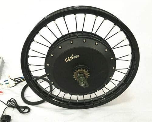 LeiLi 5000w/72v Electric Bike Ebike Fat Tire Regular Tire Conversion Kit Motor