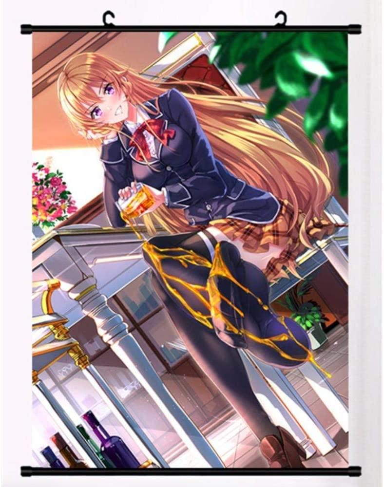 Anime Scroll Paintings Cartoon Characters Hanging Poster Home Decor Wall Painting Xmas Food Wars! Shokugeki No Soma