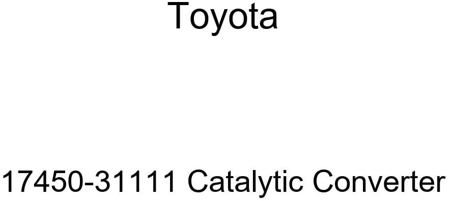 TOYOTA 17450-31111 Catalytic Converter