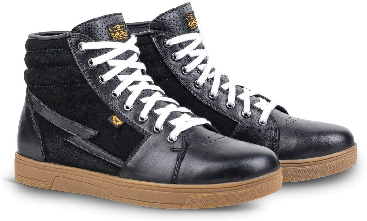 Cortech Slayer Riding Shoes (9) (Black/Gum)