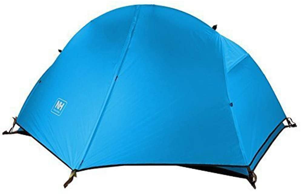 Free walker 1 Person Camping Tent, 3 Season Outdoor Ultralight Double Layer Waterproof Backpacking Tent