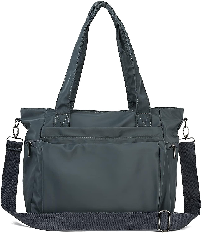 ZOOEASS Men Women Fashion Large Tote Shoulder Handbag Waterproof Multi-function Nylon Travel Messenger Bags