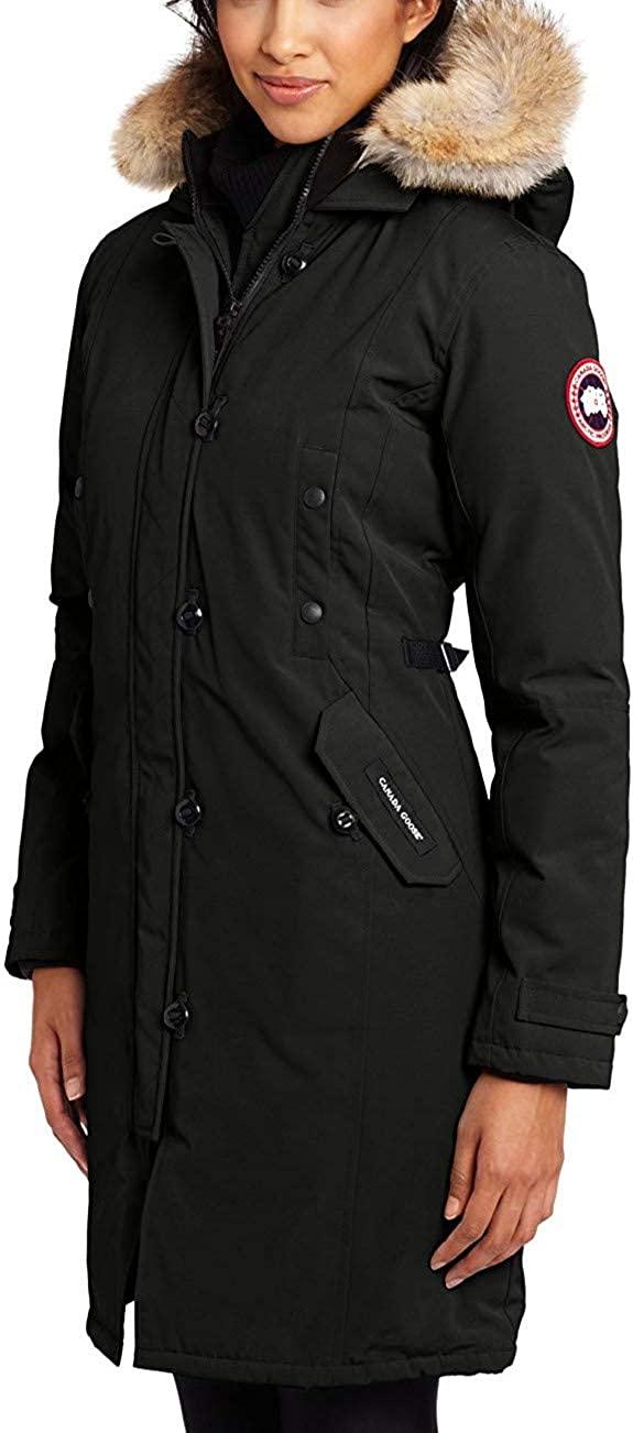Canada winter ladies luxury fashion down jacket jacket coat