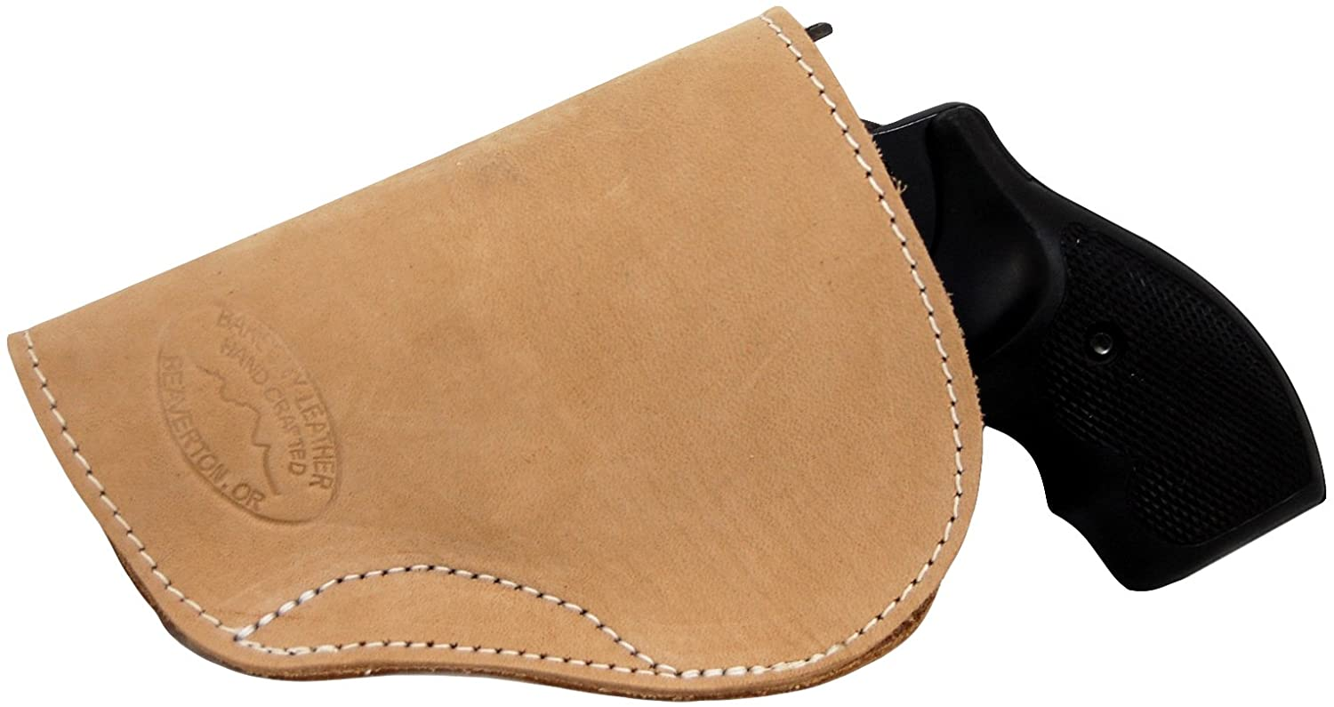 Barsony New Natural Tan Leather IWB Holster for 2