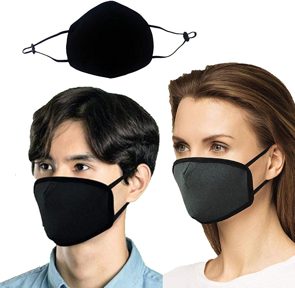 Hucop Copper Fabric Mask (Washable, Reusable) - Protect from Droplet, Pollen, fine Dust etc