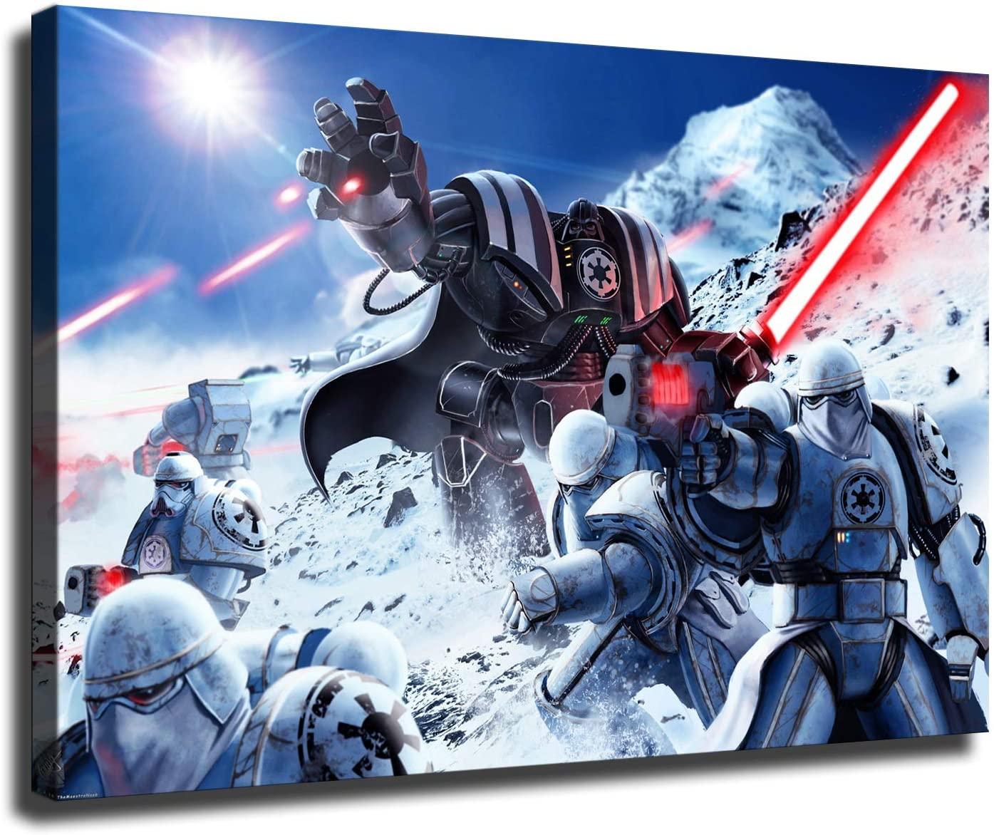 Canvas poster Star Wars Darth Vader Room wall Decoration HD print wall art (12x18inch,No framed)