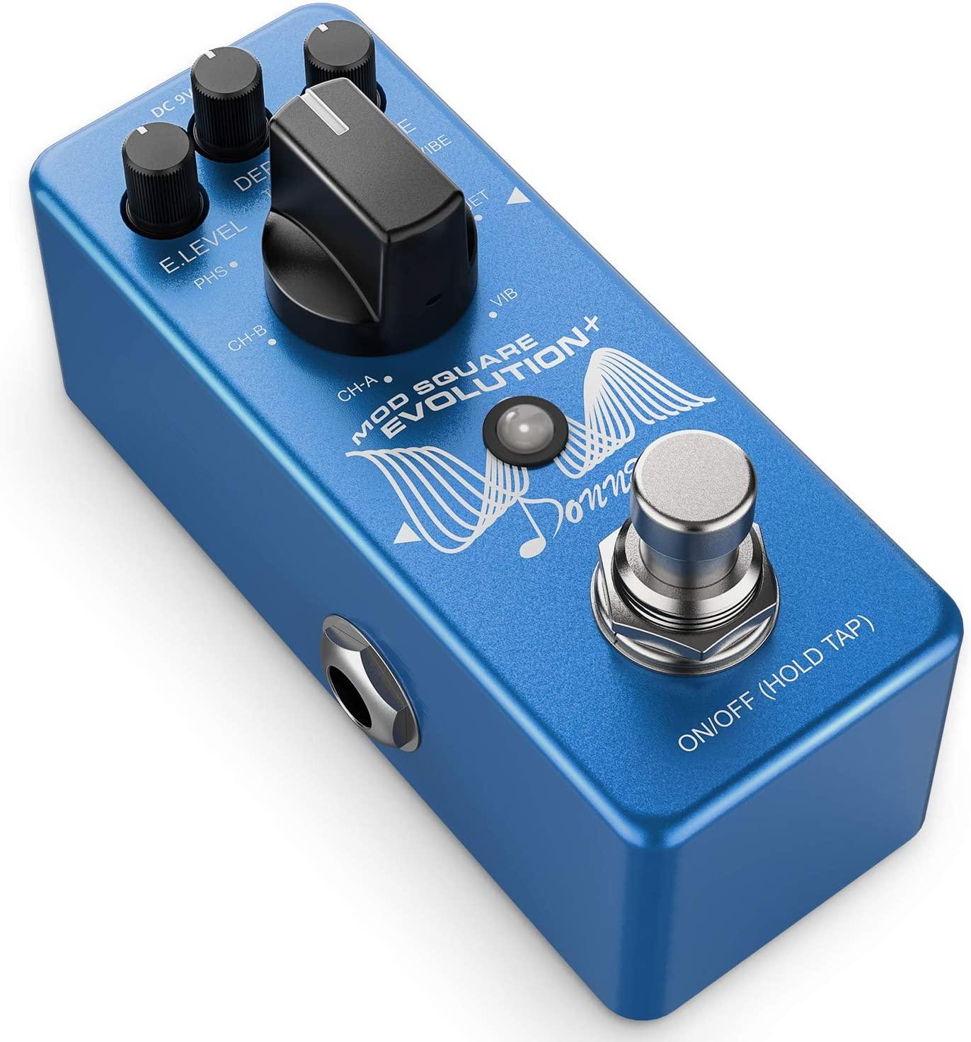 Donner MOD Square Evolution+ Guitar Effects Pedal Buffer Bypass