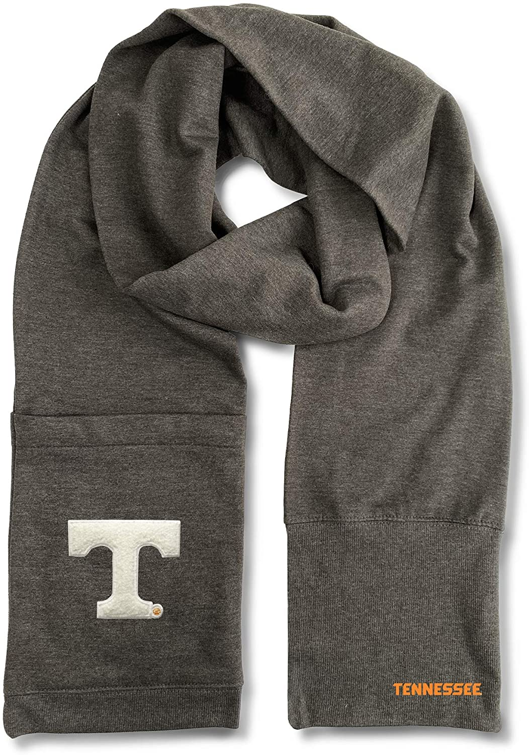 Littlearth NCAA Tennessee Volunteers Jimmy Bean 4-in-1 Scarf, Team Color, Length 82 x Width 8