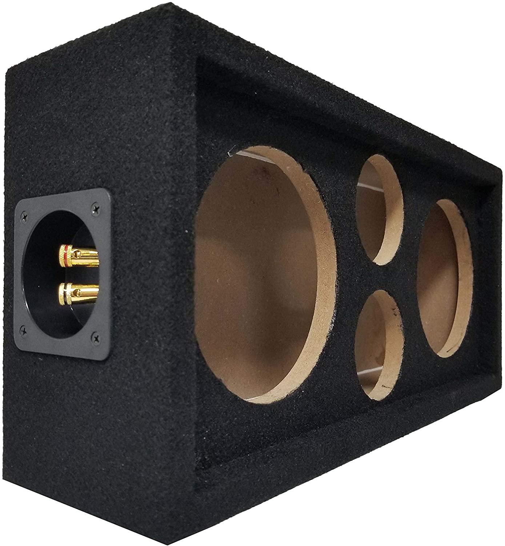 Speaker Pod Enclosure Box Carpeted MDF fits 6