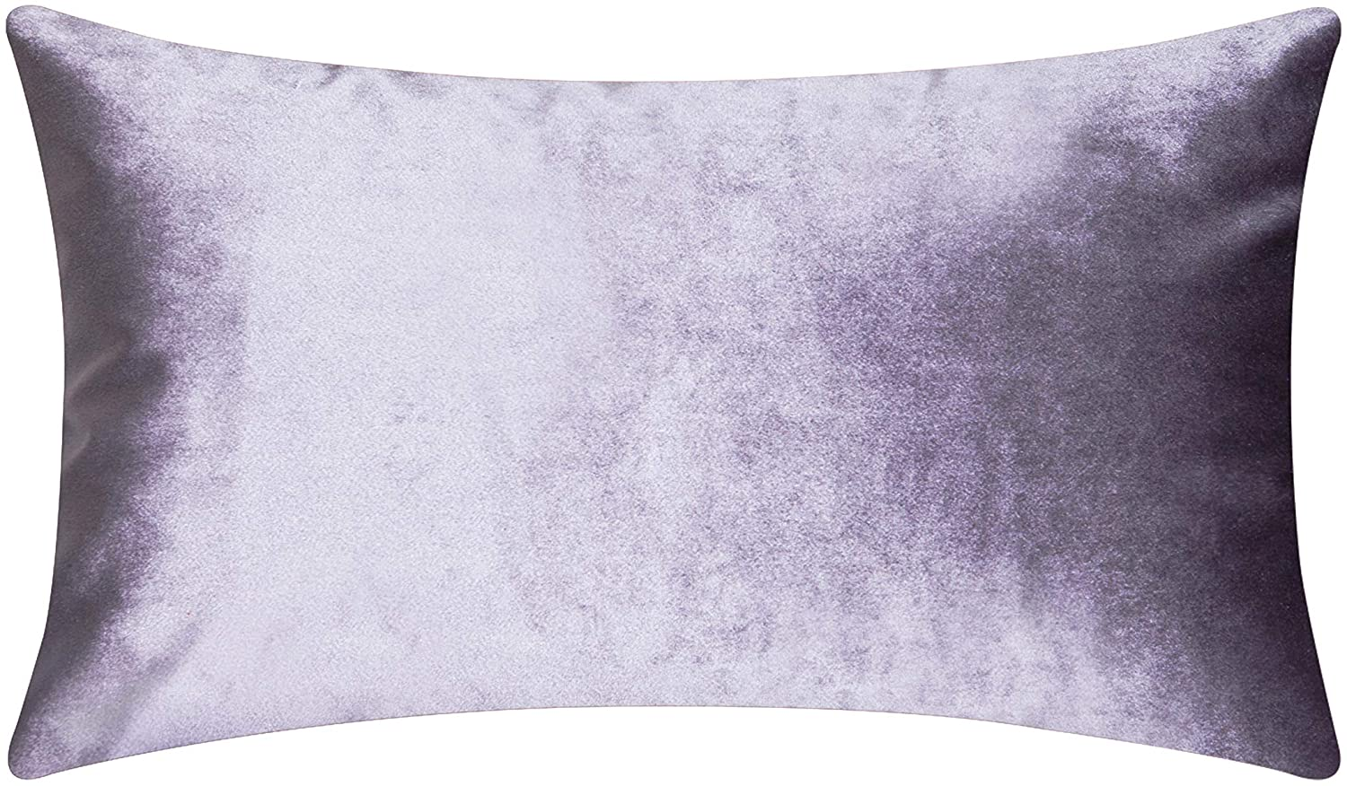 Home Brilliant Rectangular Oblong Accent Throw Pillow Cover Decorative Cushion Cover for Neck Support Nursing, 12 x 20 Inch(30cmx50cm), Lilac