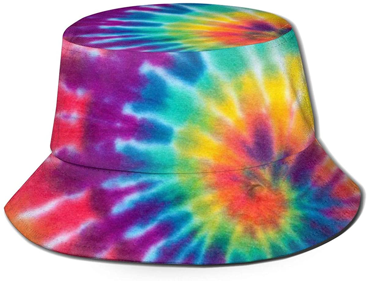 XUJ YOGA Women Men Breathable Wide Brim UV Protection Bucket Hat Outdoor Fisherman Cap