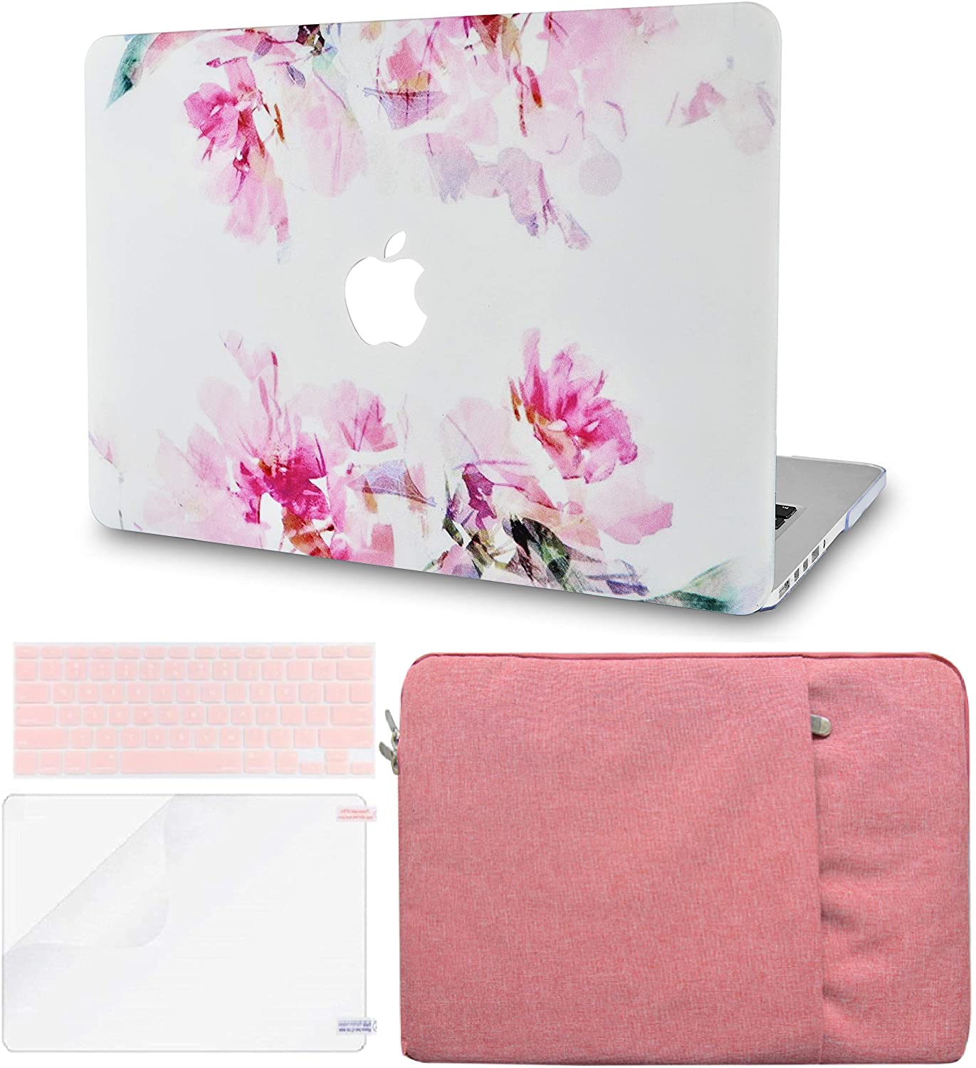LuvCase 4 in 1 Laptop Case for Old MacBook Pro 13