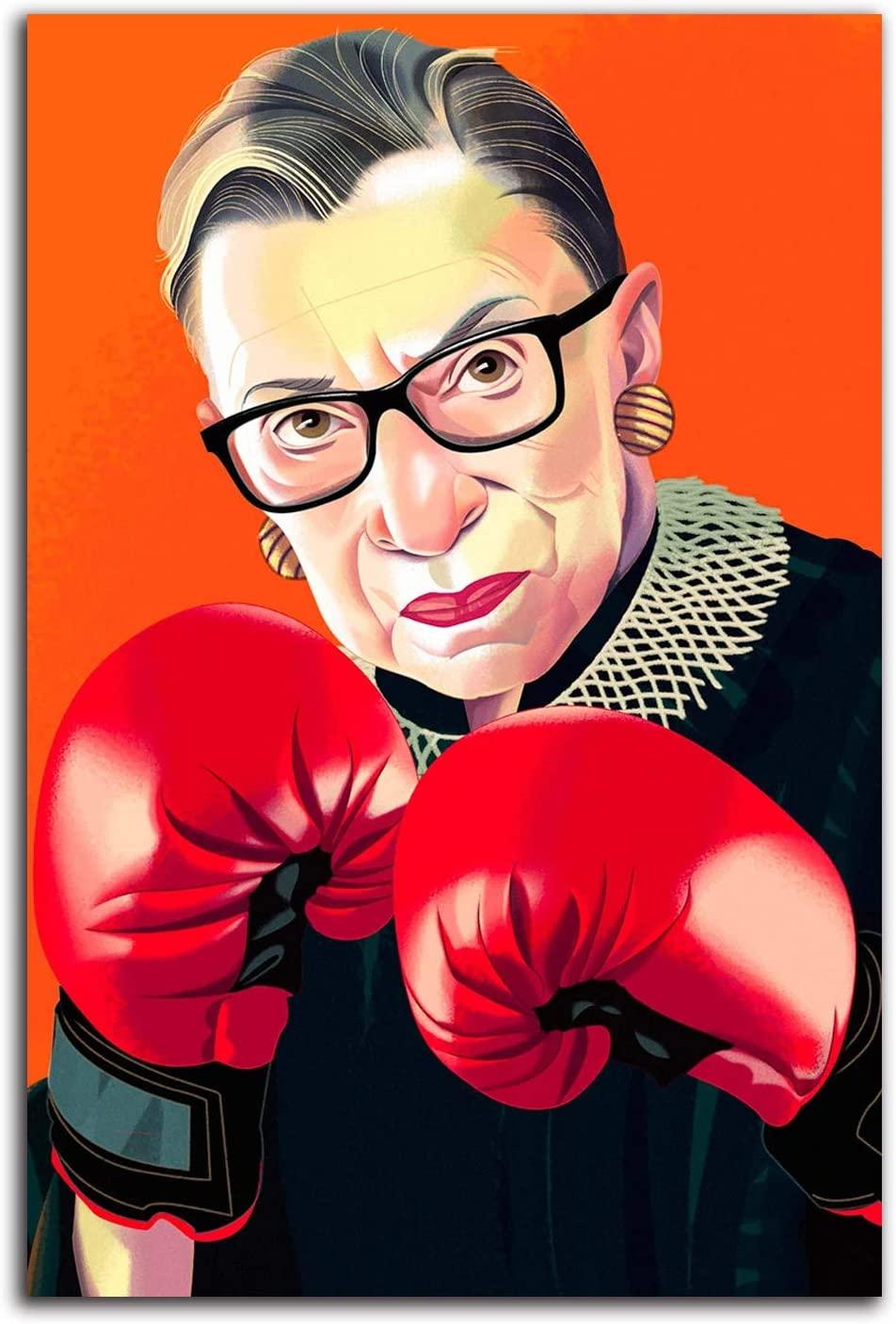 Ruth Bader Ginsburg Canvas Wall Art 12