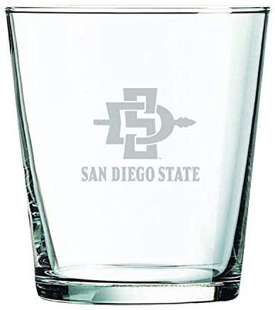 LXG, Inc. San Diego State University -13 oz. Rocks Glass