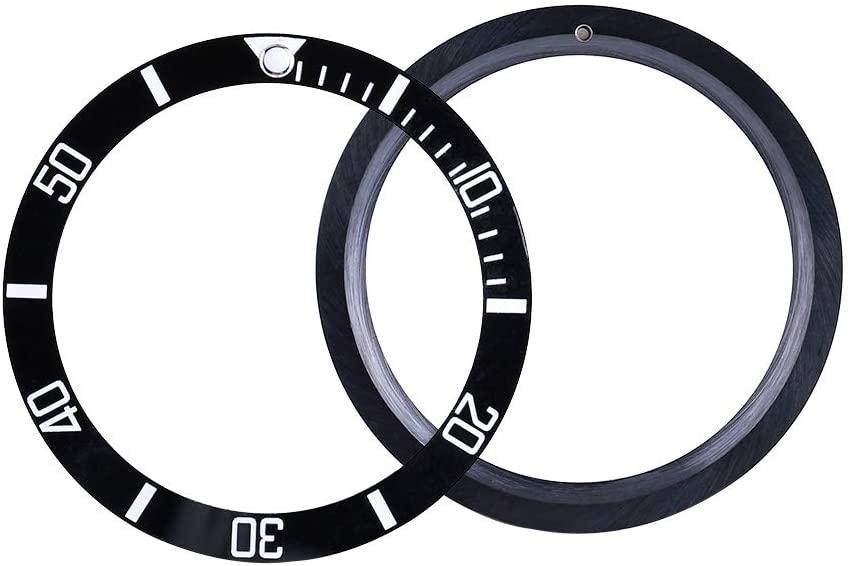 Watch Bezel Insert,Jadpes Ceramic Watch Wristwatch Bezel Insert Loop Replacement Parts Watch Bezel Insert Loop(#1)