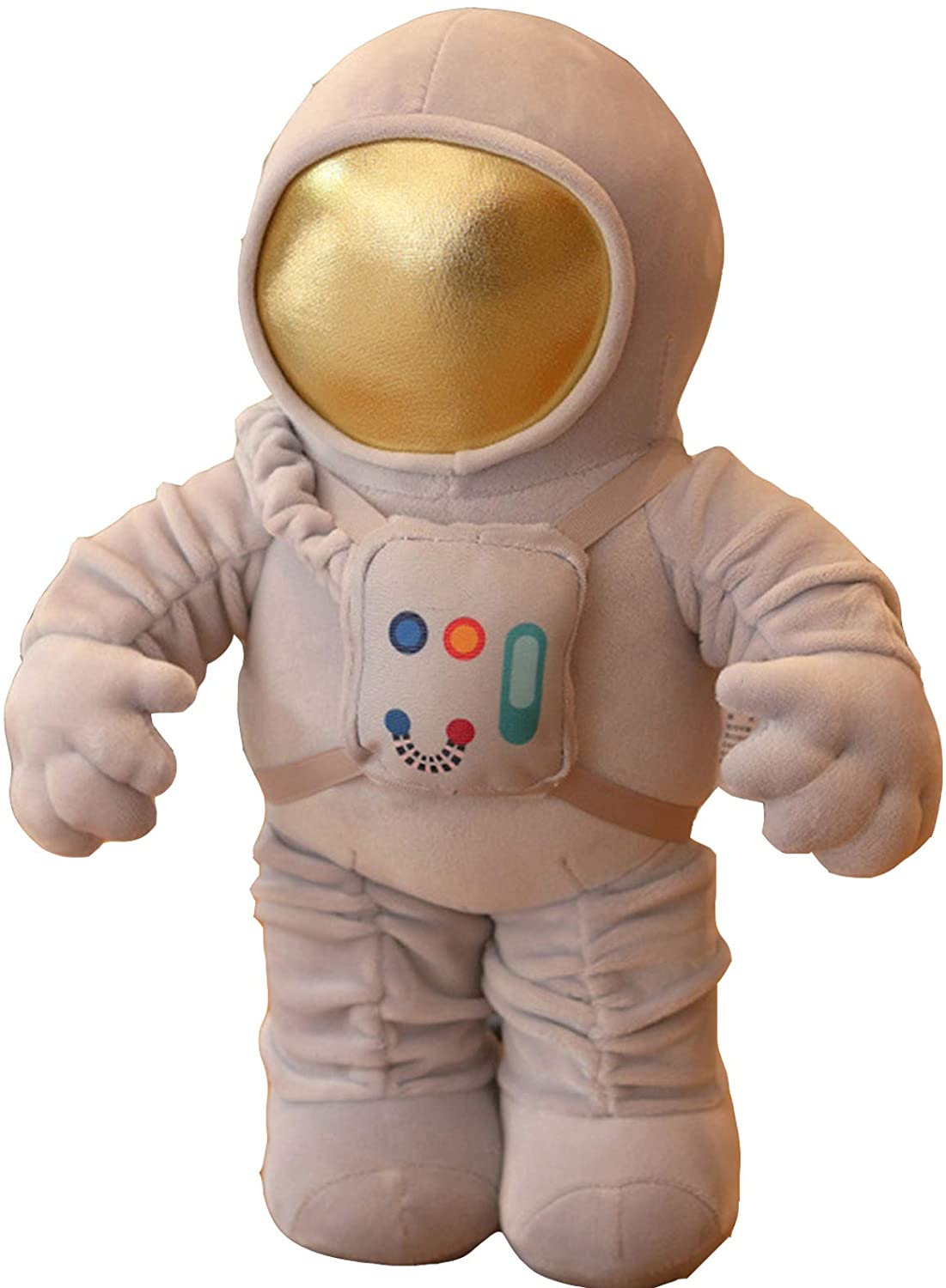 ZoeSun Astronaut Plush Toy Stuffed Plushie Spaceman Doll Plush Hugged Pillow Cushion Space Toys with Removable Backpack Kids Imagination Creativity Toy Decorations 12 in/24 in/40 inch