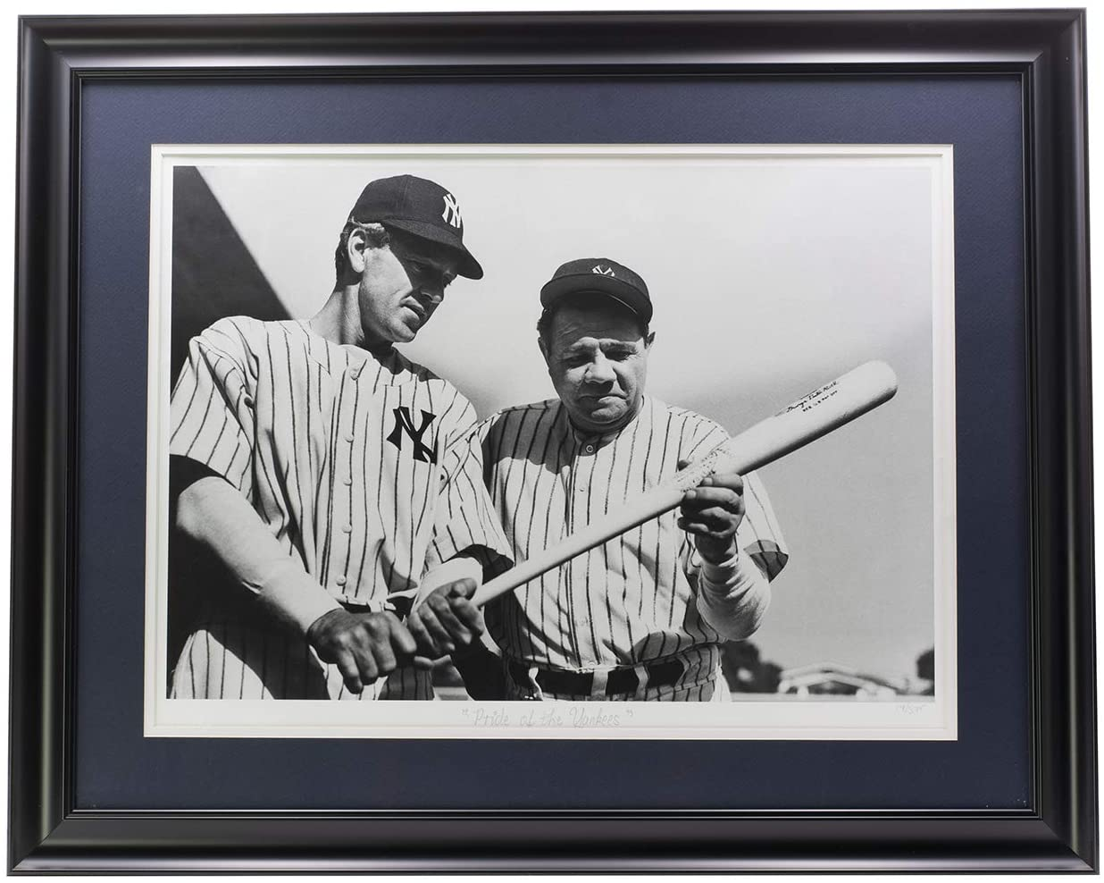 Babe Ruth Framed Pride of the Archive Photo