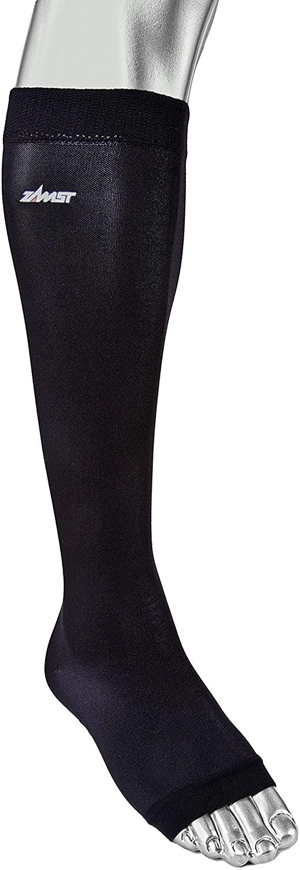 Zamst LC-1 Open Toe Calf Compression Stockings