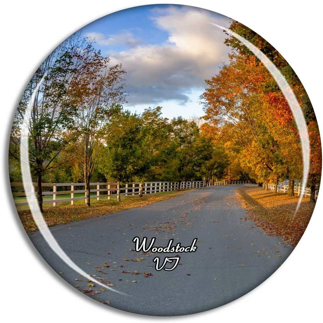 Fridge Magnet Woodstock Vermont USA Travel Souvenir Collection for Gift Home Decoration Office Whiteboard