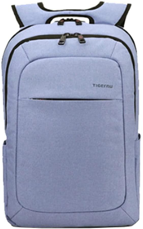 Men Women Notebook Backpack for 15-Inch Laptop Travel Business Wathet(23L)