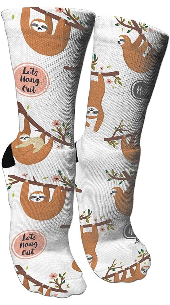 Hipster Golden Sunflowers Novelty Casual Crew Socks Dress Sock Athletic Socks