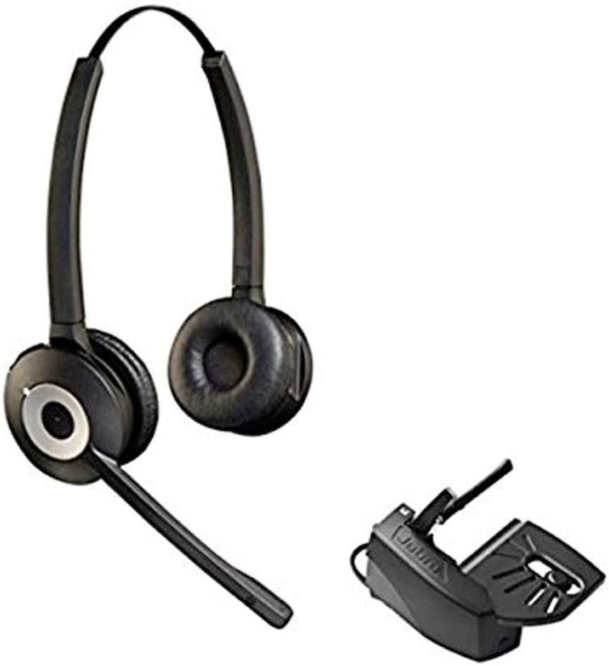 Cisco Compatible Jabra Pro 920 Cordless Headset Bundle with Lifter | Cisco Phones: 6945, 7841, 7861, 7962g, 7965g, 7975g, 8811, 8841, 8845, 8851, 8861, 8865 (Duo)