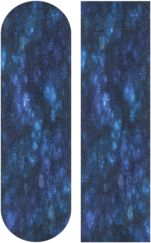 KLL Snowflake Navy Blue Skateboard Grip Tape Sheet Scooter Deck Sand Paper 33.1