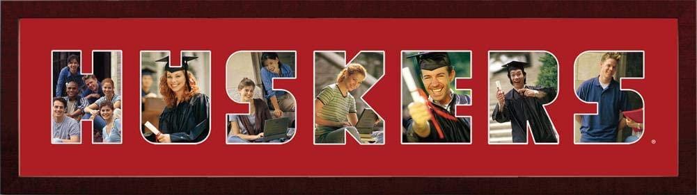 Nebraska Cornhuskers Spirit Collage Frame