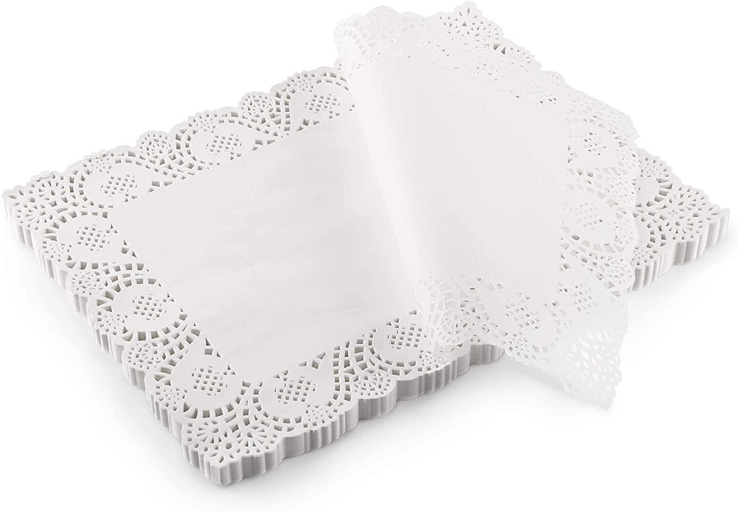 YOPAY 280 Pack Lace Paper Doilies, 15.7