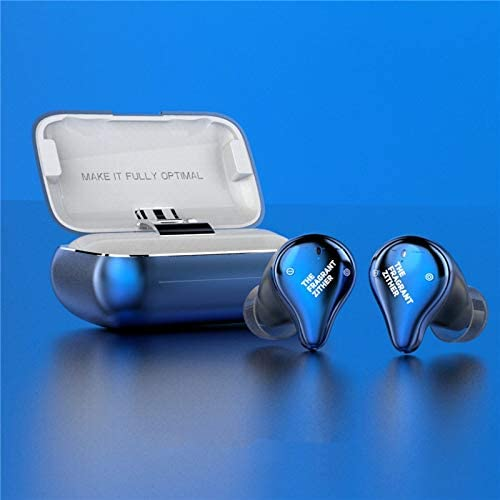 TFZ X1E Headset Dynamic Driver Bluetooth 5.0 True Wireless Earphone Waterproof TWS HiFi in-Ear Earphone with Microphone (Blue)