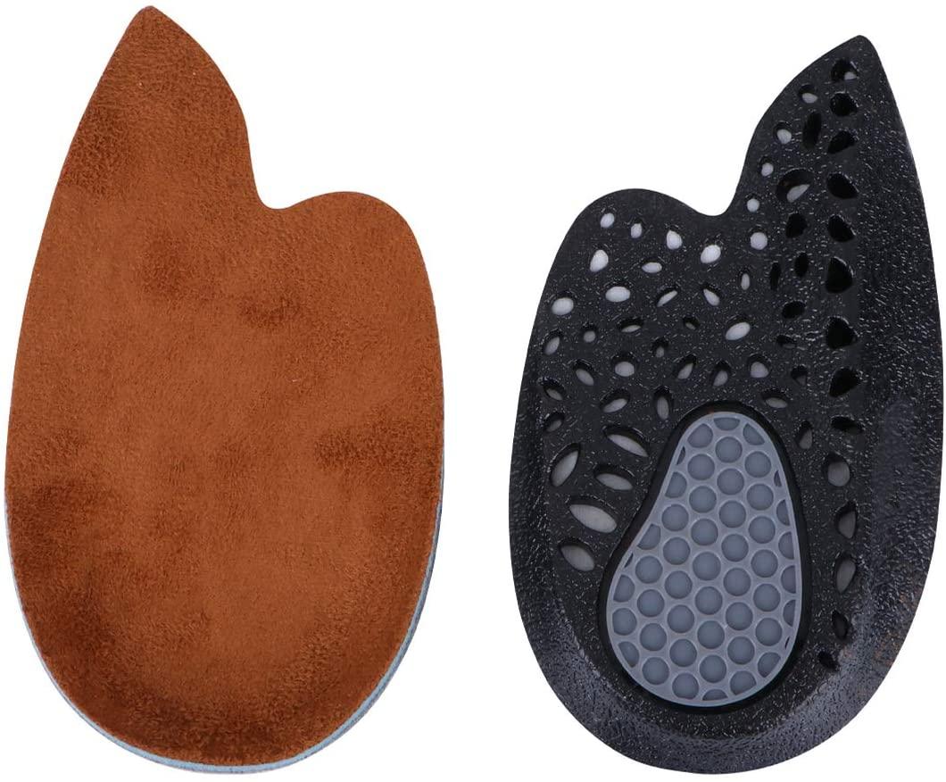 Milisten 1 Pair of Heel Cups Shock Absorbing Heel Pads Cushion Inserts for Plantar Fasciitis Heel Pain Relief
