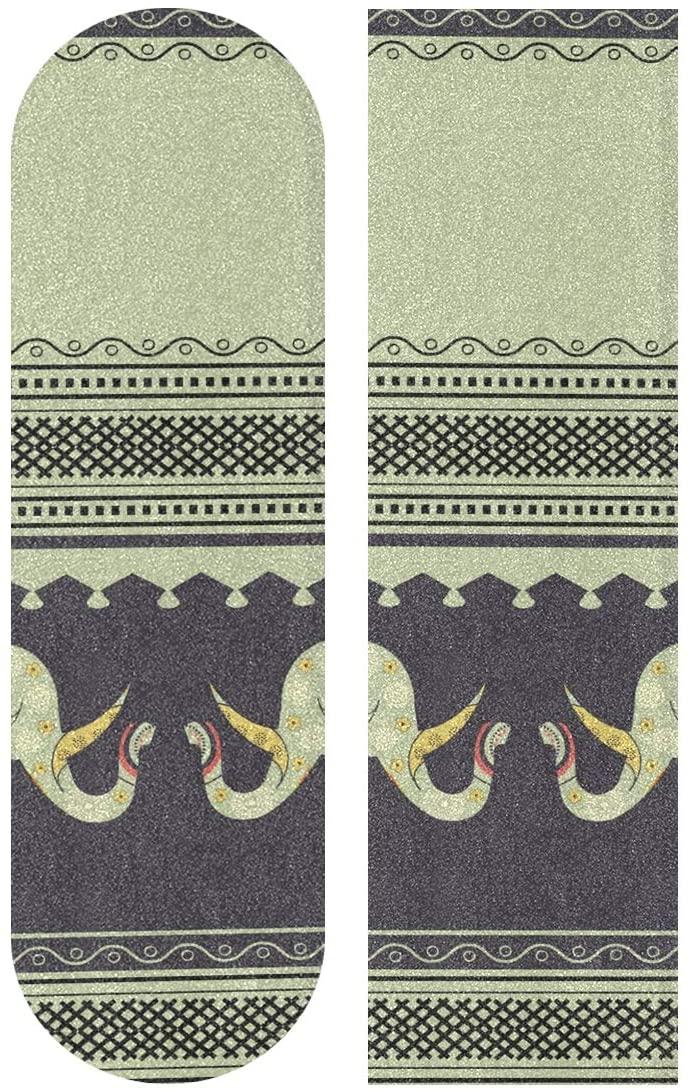senya Skateboards Grip Tape Longboards Griptape Cute Elephant Sandpaper for Rollerboard