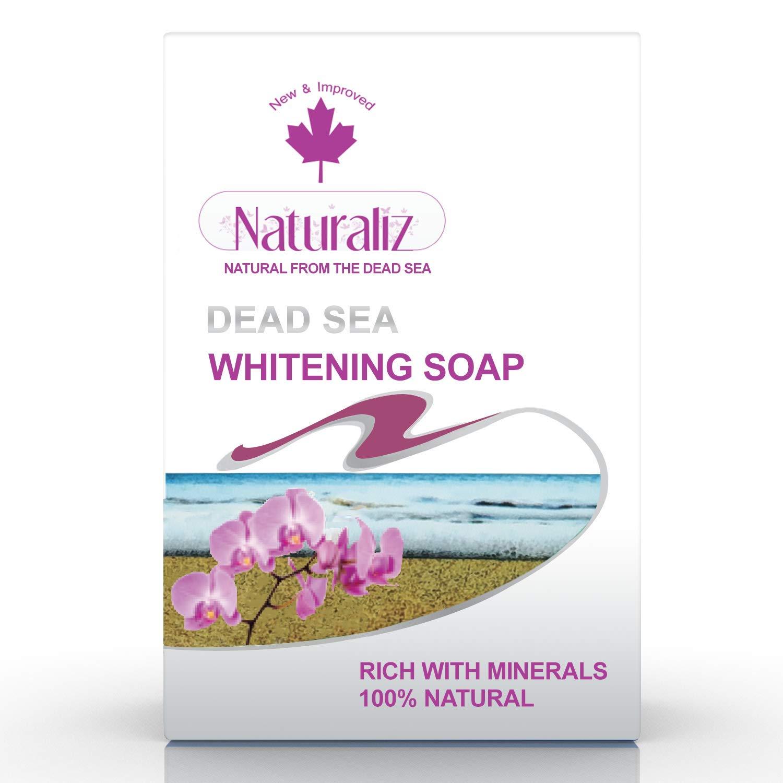 Naturaliz Dead Sea Soap Bar - Qty 1-3.5 oz (Whitening)