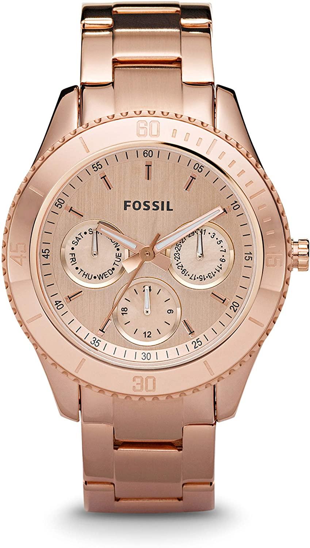 Fossil Women's Stella Quartz Stainless Steel Chronograph Watch