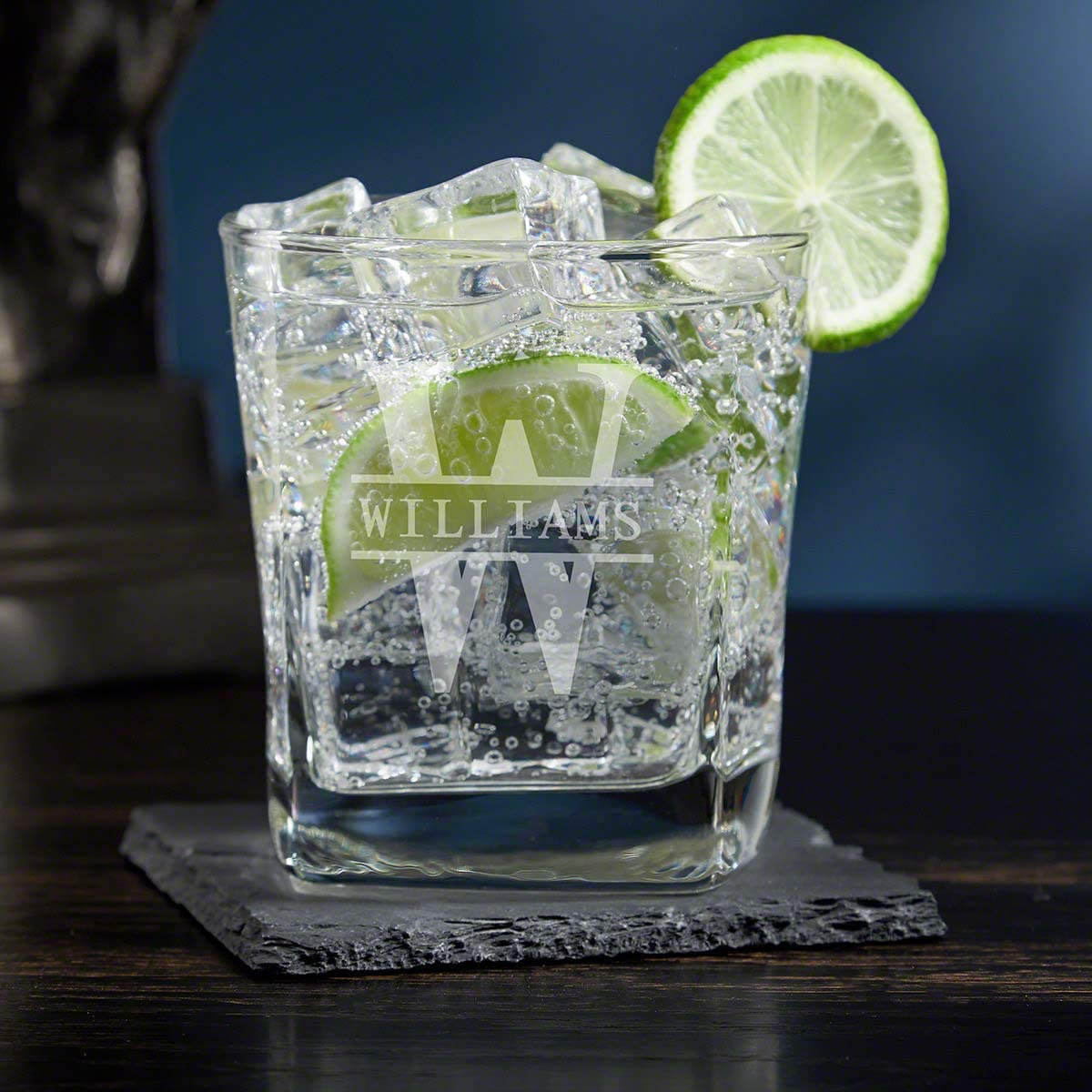 Oakmont Custom Cocktail Glass for Vodka Sodas (Personalized Product)