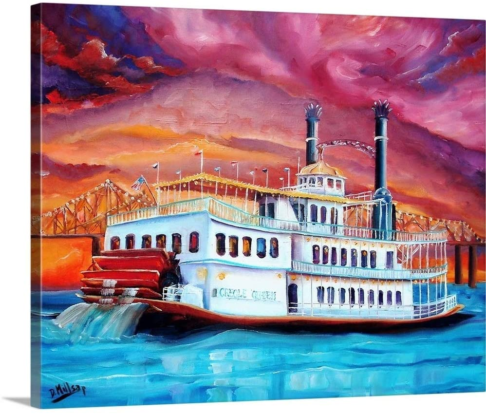 New Orleans' Creole Queen Canvas Wall Art Print, 30