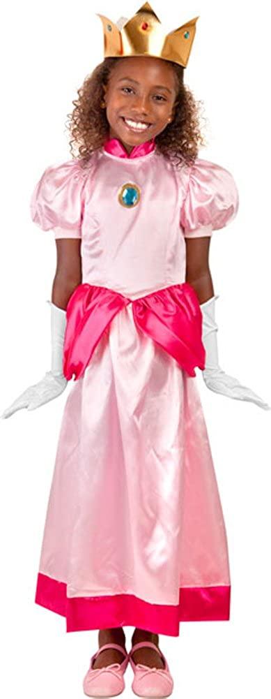 Childs Video Game Princess Costume, Size Medium Pink