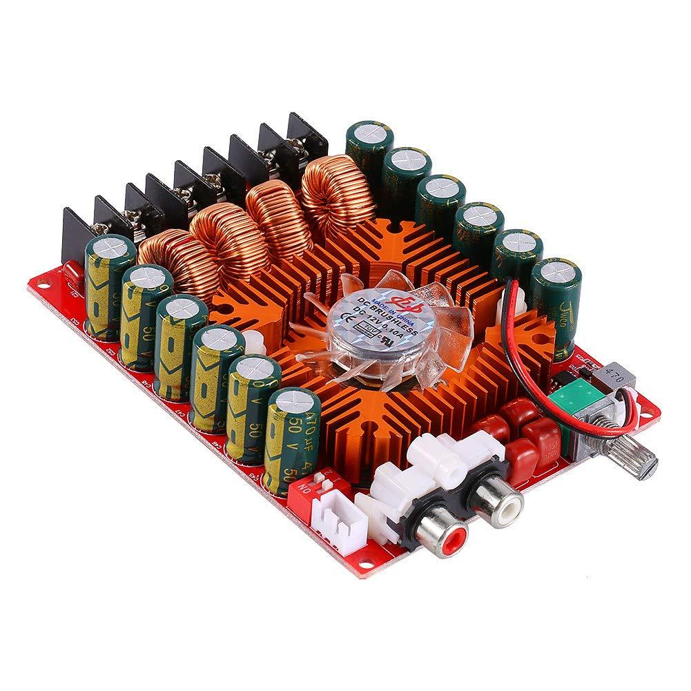 Digital Amplifier Board, DC 15-36V Btl Two Channel Stereo 4/6 / 8ohm Dual Channel Stereo Audio Amplifiers