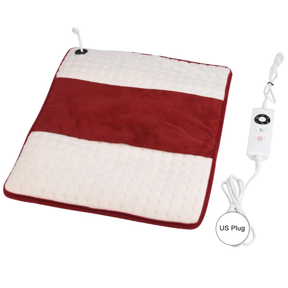 Electric Heating Pad, Heat Pad, Office People with Arthritis Rheumatism People with Back Pain Home for People of Long Time Sedentary(U.S. regulations)
