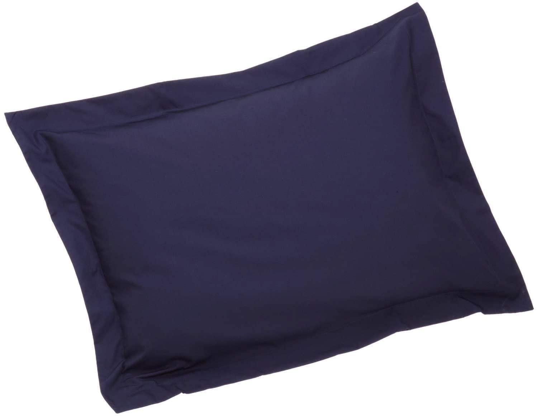 Queen Pillow Shams Set of 2 Navy Blue 550 Thread Count Super Soft Queen Size Pillow Shams 20