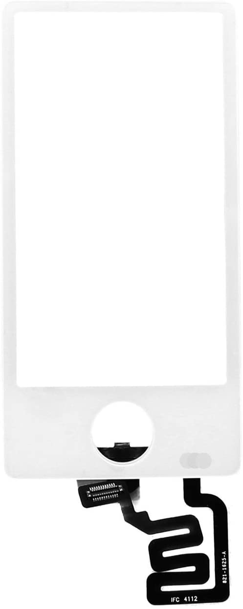 Touch Screen Glass Digitizer for iPod Nano 7 7th Gen (Not Include LCD) (White)