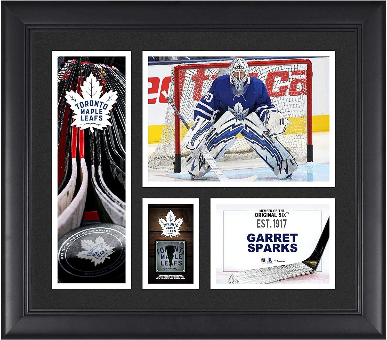 Garret Sparks Toronto Maple Leafs Framed 15