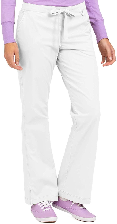 Med Couture Women's 'MC2' Skyler Scrub Pant, White, XXX-Large