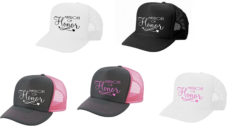 Epic Designs Wedding Bridal Party hat - Matron of Honor - Bachelorette Party