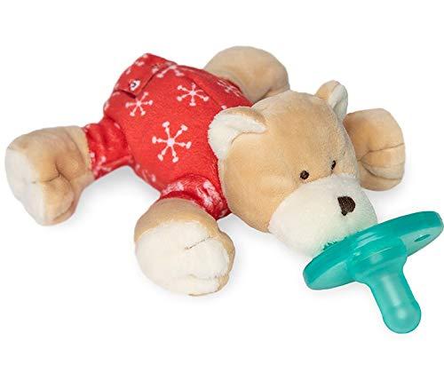 WubbaNub Infant Pacifier - PJ Baby Bear