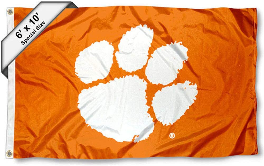 College Flags & Banners Co. Clemson Tigers 6x10 Feet Flag