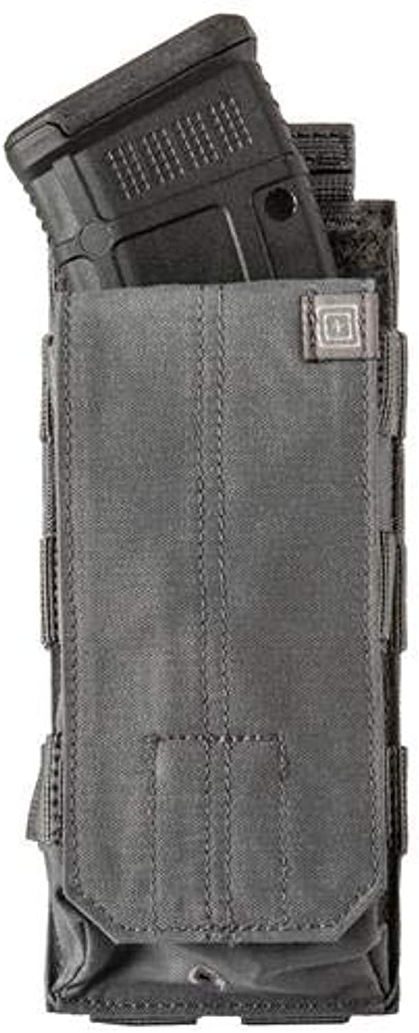 5.11 Tactical AK Bungee/Cover Single, Nylon Body, Soil and Moisture Resistant, Storm, Style 56158