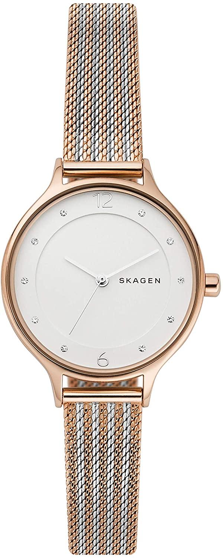 Skagen Women's Anita Stainless Steel Mesh Dress Quartz Watch