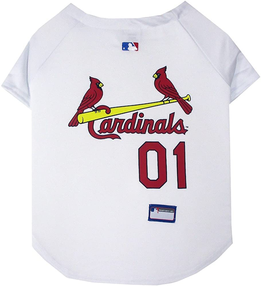 St. Louis Cardinals Dog Jersey XSmall