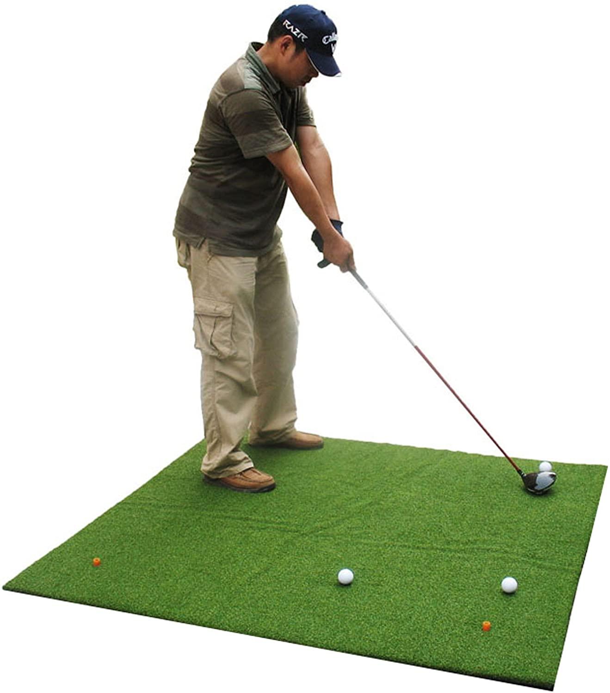 Popsport 3 x 4FT 3X 5FT 4X 4FT Golf Mats Practice Golf Hitting Mat Portable Outdoor Sports 4 x 5 5 x 5FT Golf Turf Practice Mat Golf Mat for Backyard or Outdoor Training